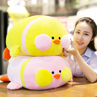 40/60 cm Soft Duck Plush Toy Stuffed Animal Duck Cotton Pillow Cushion Plush Toy For Sofa Home Decoration