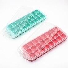24 сетки с крышкой форма для льда домашние кубики льда силиконовая форма для льда силиконовая 24 Сетки форма для льда