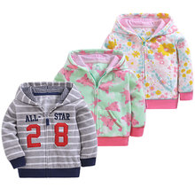 New 2019 spring baby coat fleece jacket 9M-3T girl clothing , super cute boy clothes infant