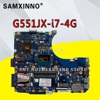 G551JX Para For Asus G551J G551JX G551JW G551JM G551JK motherboard com i7 GTX 950M / 4GB mainboard 100% testado