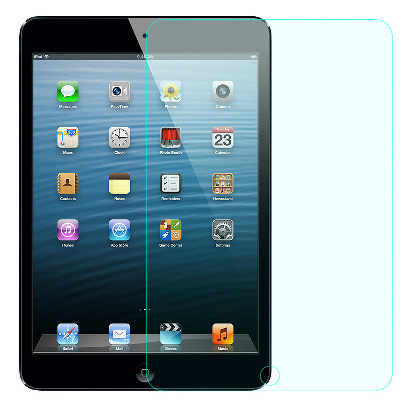 GerTong Tempered Glass For Apple iPad 2 3 4 Air Air1 Air2 Mini 2 3 4 Screen Protector Tablet Toughened Guard 9H Clear Film