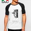 Saab SCANIA Hombre Camiseta Raglan Manga Cuello O Diy KTW Impreso Camiseta de Marca para Hombre Ropa de Hip Hop Ropa Divertida MaleStreetwear Spo