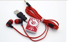 Hot Sale hight quality Mini Clip MP3 Music Players Support TF Card With Headphone &Mini USB