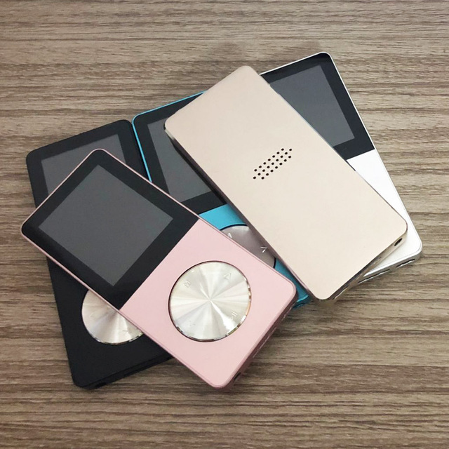 1.8 Inch Metal Sport lossless MP4 Player Portable walkman 40GB Built in Speaker FM Radio E book Clock HIFI Music Player MP3