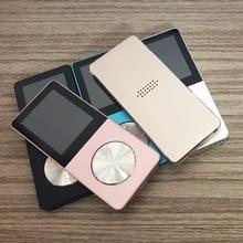 مشغل MP4 معدني 1.8 بوصة بدون فقدان في الرياضة جهاز كمبيوتر محمول مزود بمكبر صوت مدمج بمساحة 40 جيجابايت وراديو إف إم وكتاب إلكتروني على مدار الساعة مشغل موسيقى هاي فاي ومشغل MP3