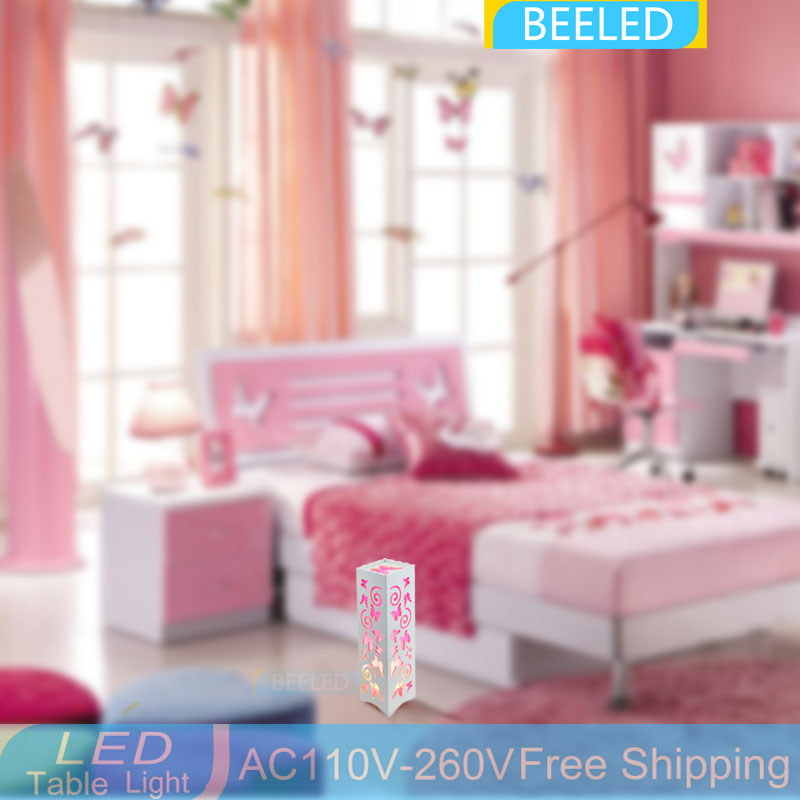 Living Room Bedroom 110V 220V desk light Modern Lamp LED table lamp ...