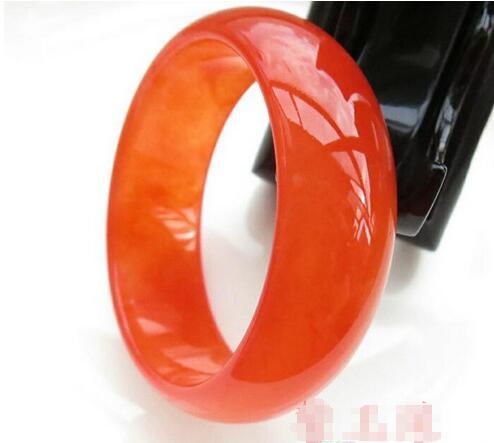 Natural Genuine Ice Silk Silk Jadeite Xinjiang Kunlun Yu Bing Through Wire Wrapped Girlfriend With A Certificat>free Shipping Bracelets & Bangles