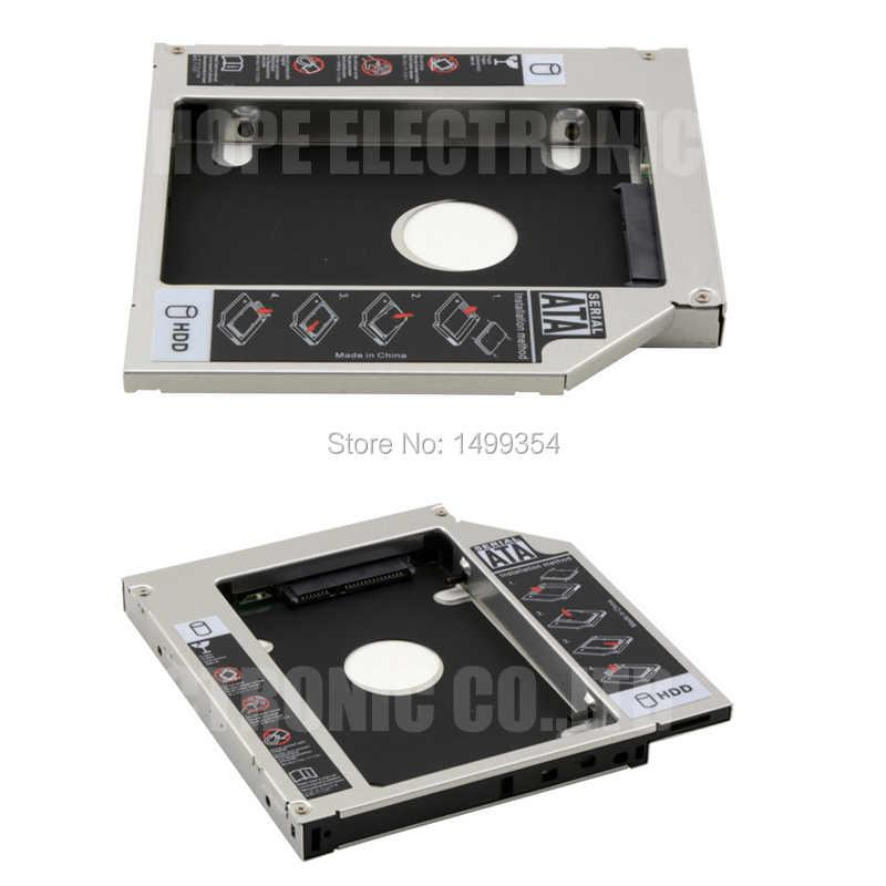 ل ASUS K42J K43SJ X84H X44HA83S A43S X42S SATA 3.0 2nd HDD العلبة SSD محول DVD-ROM Optibay 12.7mm سمك