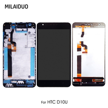 LCD Display For HTC D10U Desire 10 Lifestyle Touch Screen Digitizer White with Frame Full Assembly Replacement 5.5