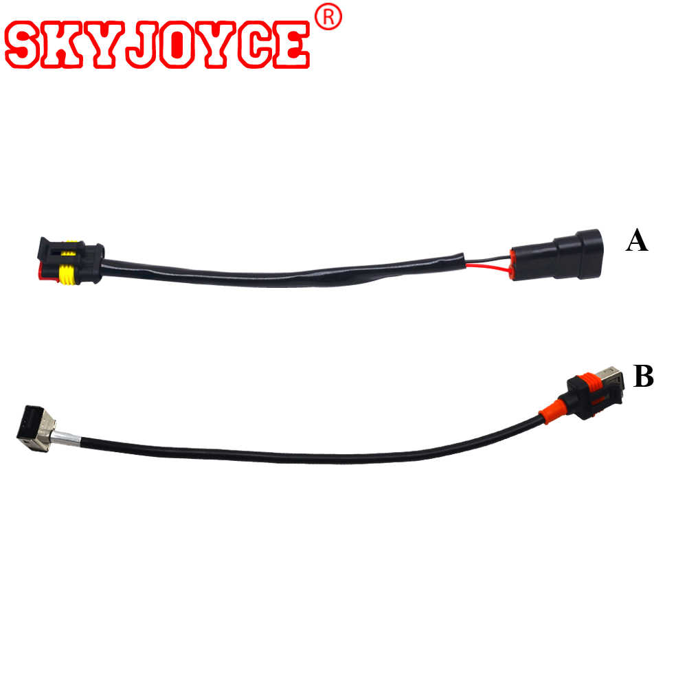 hight resolution of skyjoyce 100pcs xenon d1s 55w ballast power cable bulb socket d1r 5000k d1s bulb connector plug