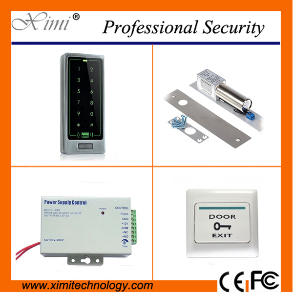 8000 users 125KHZ RFID card access controller with led keypad door access control system standalone without software
