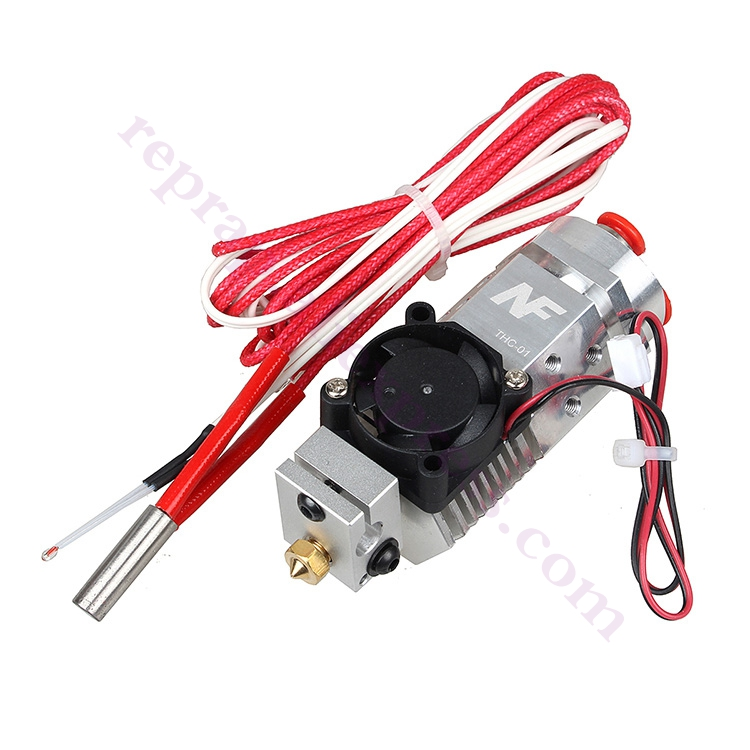 2017 Newest 3D Printer 3 in 1 out Multi-color Extruder Three Colors Switching Hotend, Compatible Titan / Bulldog Bowden Extruder light bulldog extruder