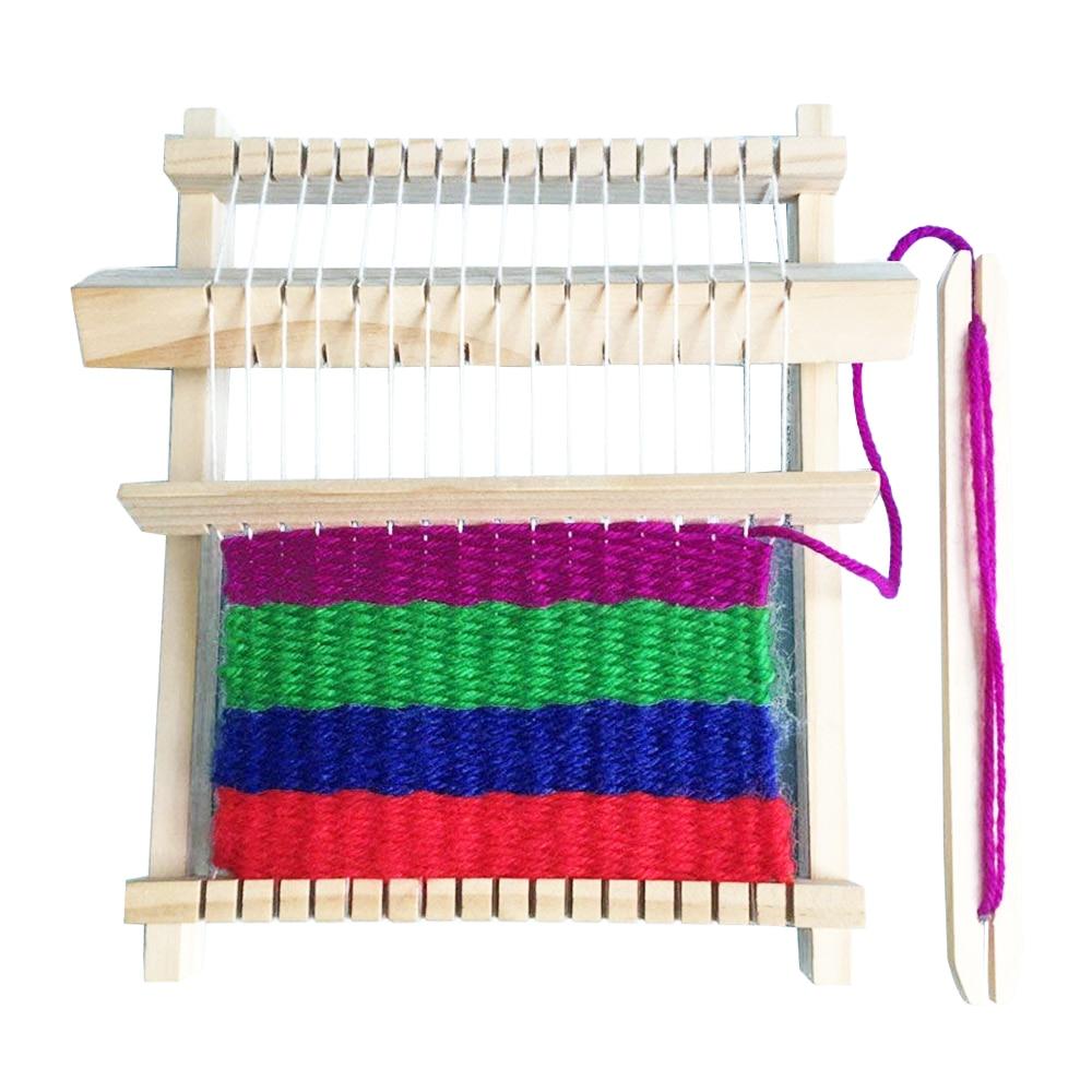 Needlecrafts Yarn Weaving Loom Kit Hand Woven Diy Suit