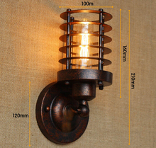 Edison Vintage Wall Light Fixtures For Bar Cafe In Style Loft Industrial Wall Sconce Lamp Arandela Lamparas De Parede edison vintage industrial wall lamp loft balcony wall light steam tube t300 cafe bar hall coffee shop club store restaurant