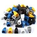 100 Unids Suave Botas de Cubierta del Enchufe del Cable Ethernet RJ45 Conector De Plástico Color Al Azar