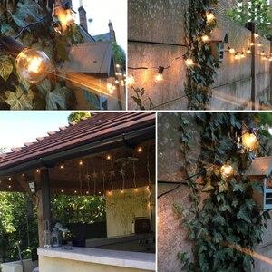 Image 2 - G40 iluminação para área externa, iluminação para pátio, para casamento, festa de natal e rua, para quintal, árvore