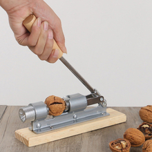 Manual Stainless Steel Nut Cracker Mechanical Sheller Walnut Nutcracker Fast Opener Kitchen Tools Fruits And Vegetables stainless steel manual slice tomato fruits and vegetables more chopper slice cutting machine