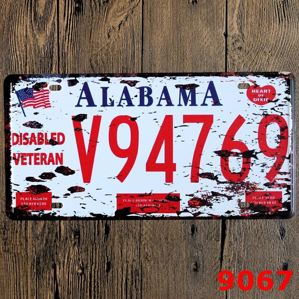 Hot Car License Plates number \