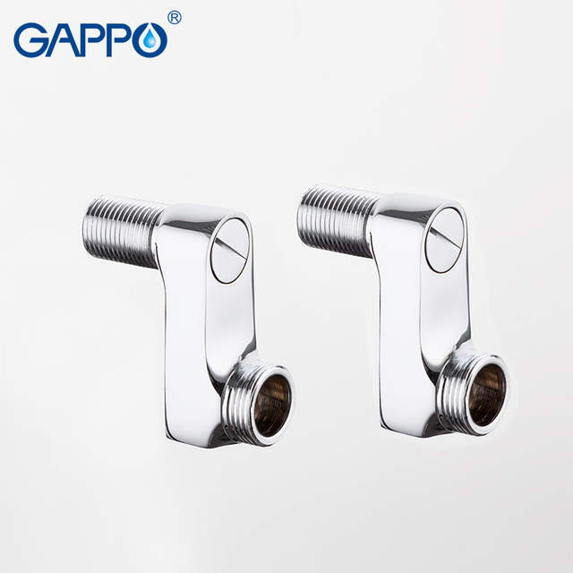 GAPPO pipe fittings bathroom copper pipe brass fittings pneumatic Reducer  Extended Corner For Faucet accessories shower faucet