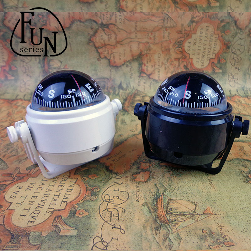 FunSeries için Led Işıklı Topu Pusula Kamyon Dashboard Araba Deniz deniz tekne Kamp Seyahat Navigasyon 151027-24