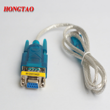 Supports Windows 8 USB to RS232 cable and DB9 9pin Serial w/ Female Adapter No CD With DB9 female to female  0.8m For computer