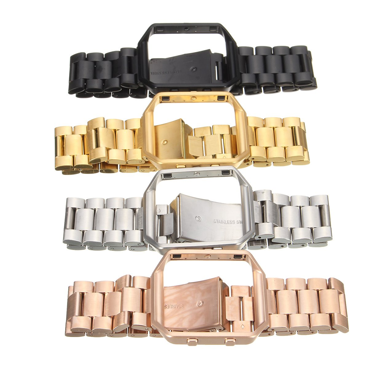 1 PCS 21mm ristband Replacement Strap + Metal Frame for Fitbit Blaze Tracker Stainless Steel Watch Bands Magnetic Lock 4 Colors crested milanese loop strap metal frame for fitbit blaze stainless steel watch band magnetic lock bracelet wristwatch bracelet