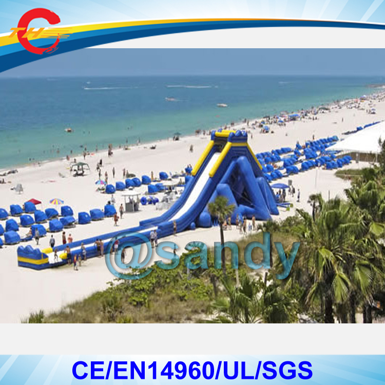 Inflatable Water Slide Port Macquarie: Free Shipping By Sea To Port,30x9x9mH Giant Outdoor