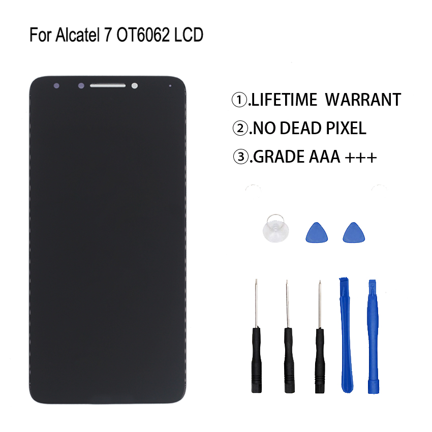 Original For Alcatel 7 6062 OT6062 LCD Display Touch Screen Digitizer Assembly For Alcatel 7 6062 OT6062 Display Screen LCD Original For Alcatel 7 6062 OT6062 LCD Display Touch Screen Digitizer Assembly For Alcatel 7 6062 OT6062 Display Screen LCD