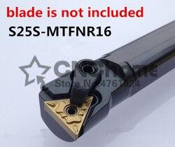 S25S-MTFNR16/S25S-MTFNL16 25mm narzędzi skrawających CNC toczenie narzędzie maszyna do narzędzia wewnętrzne tokarka metalowa narzędzie wytaczadło typu MTFNR/L