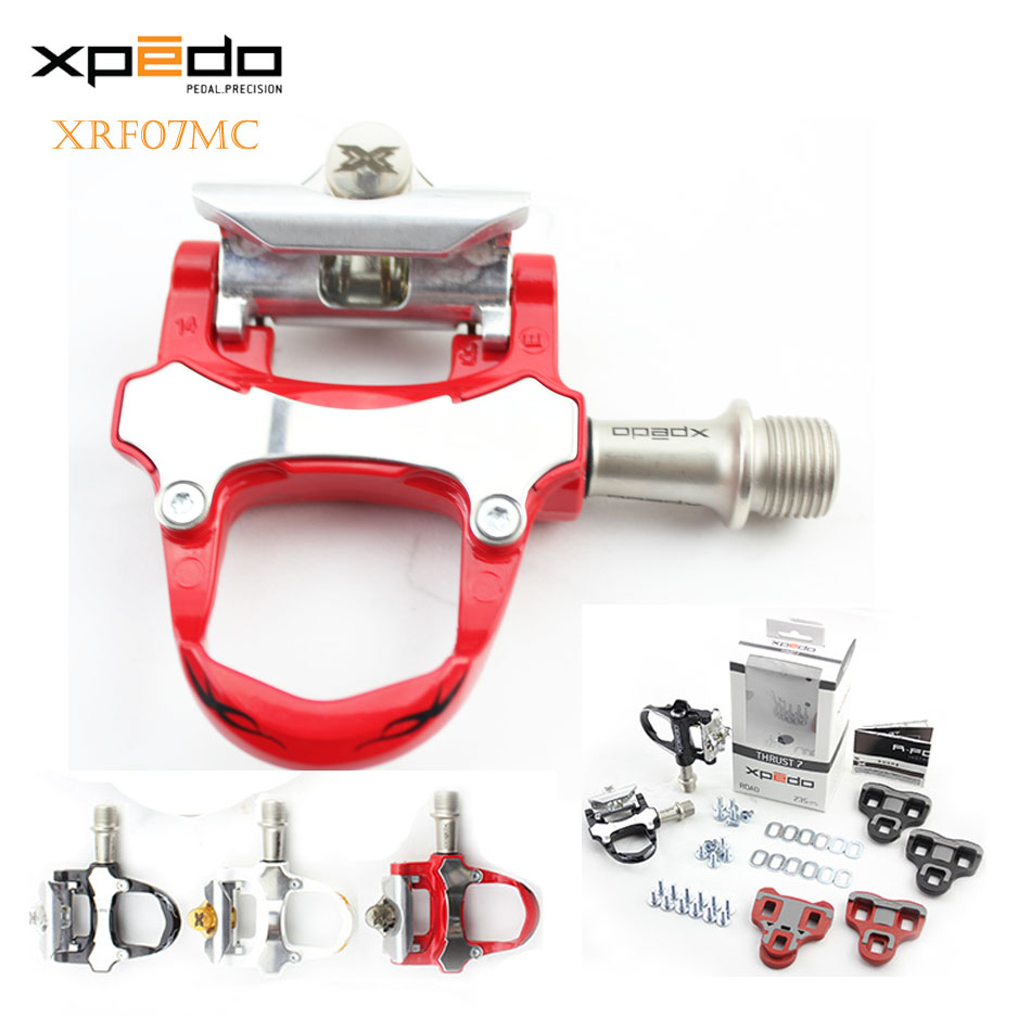 wellgo XRF07MC Road Bike Sealed Pedals Look Keo Compatible Ultralight Pedals Wellgo Brand Bicycle Pedal Cycling Bearing Pedals wellgo cycling road pedals self lock light weight upgraded version bicycle bike cycle cleat pedal black pedales bicicleta road