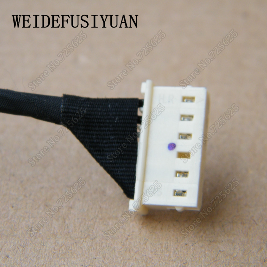 Computer Cables Laptop DC Jack Socket with Cable for ASUS PU551L PU551 PU551JD E551L E551LA E551LD Pro551LD Cable Length: 0.2m