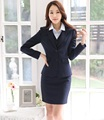 Ladies Formal Uniform Styles Skirt Suits Professional Business Work Wear Jackets And Skirt Women Blazers Outfits Sets