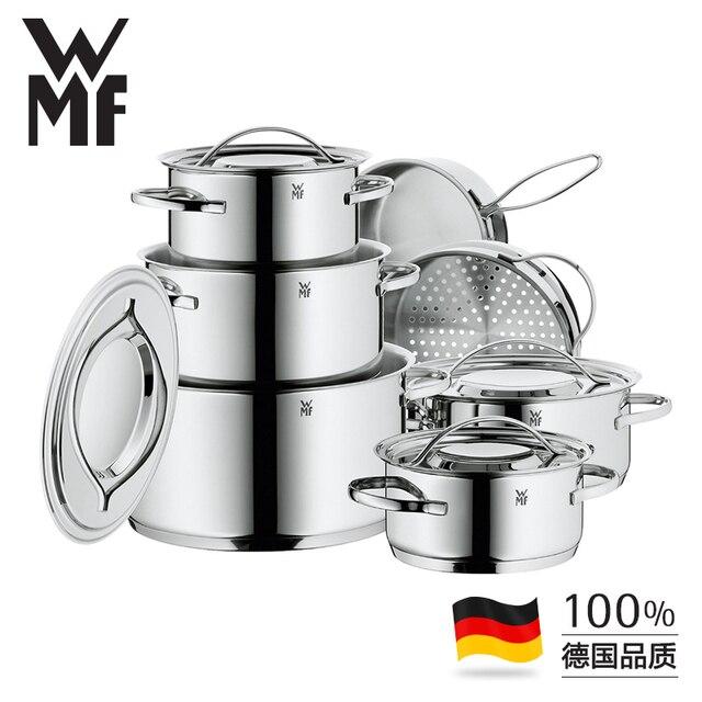 Utensilios Para Cocinar Al Vapor | Frete Gratis Wmf Alta Qualidade 12 Pcs Conjunto De Utensilios De