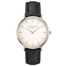 2016 nueva correa de mesa masculino diseño Delgado y simple Cinturón marca de Lujo Reloj de Señoras neutral Bauhaus diseño Ultra-delgado a prueba de agua