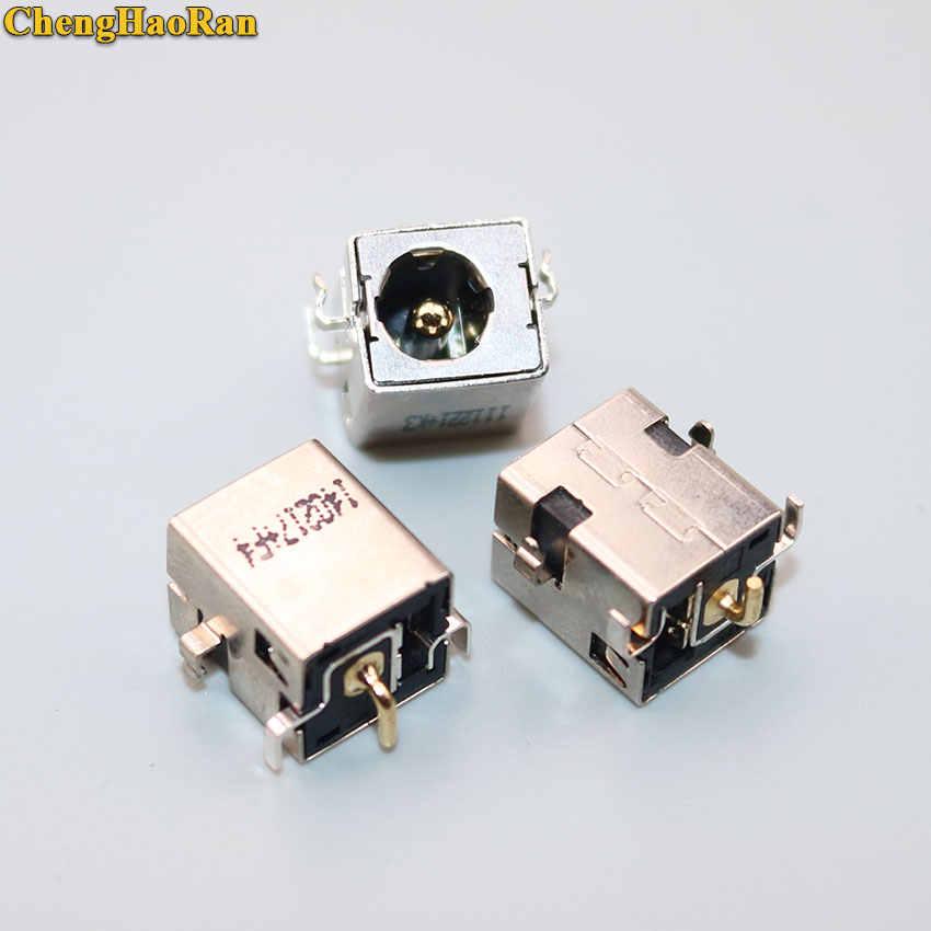 ChengHaoRan ل Asus A52 A53 A53S K52 k53 K52JR U52 X52 X53 X54 PJ033 A43 X43 U30 DC الطاقة وصلة مرفاع 2.5 مللي متر الذهبي