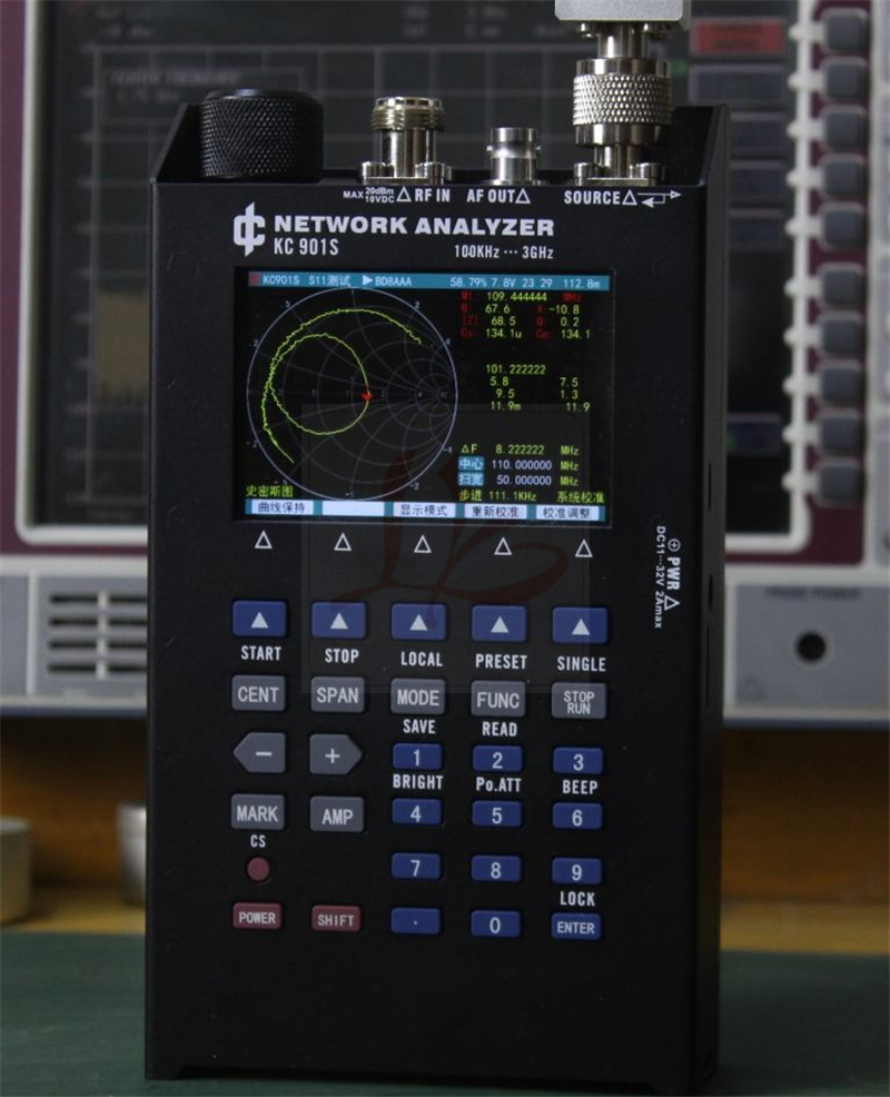 Network Analyzer Us 1222 6 Off Kc901s Vector Network Analyzer Day Feeder Analysis Frequency Spectrum Field Strength Radio Frequency Swr Standing Wave Test In