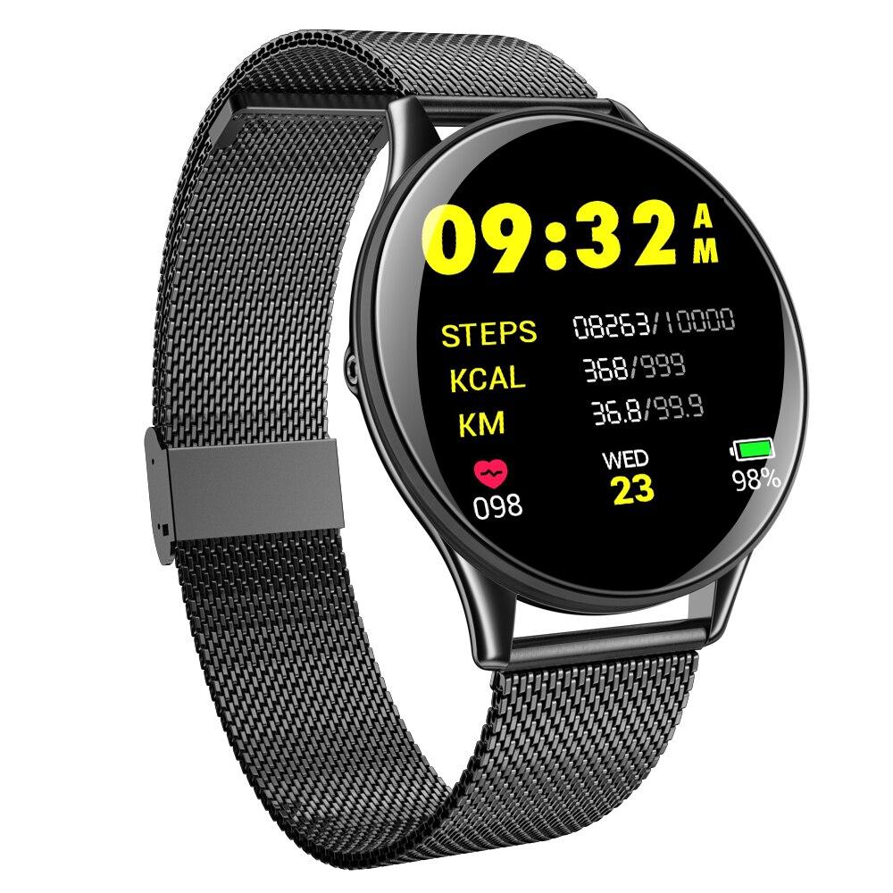 Uhoofit SN58 inteligente reloj de los hombres IP68 impermeable Reloj GPS Monitor de ritmo cardíaco de las mujeres deportes smartwatch para Android IOS