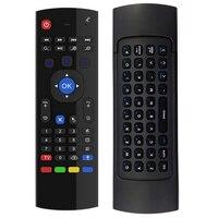 Black Fly Air мышь Беспроводная клавиатура Игры Android пульт дистанционного управления Аккумуляторная 2.4 г беспроводная клавиатура для Smart TV Mini PC