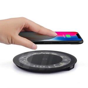 Image 5 - צ י מטען אלחוטי מקלט מקרה עבור iPhone 7 6 6s מקרה טלפון נייד אלחוטי טעינת Pad Dock כיסוי עבור iPhone 7 בתוספת 6 6s 8