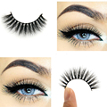 3D Mink eyelash Messy Cross Thick Natural Fake Eye Lashes Professional Makeup Bigeye Eye Lashes Handmade 3D007 Arison Lashes