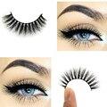 3D cílios Vison Patudo Bagunçado Cruz Grosso Natural Eye Lashes Falso Maquiagem Profissional Eye Lashes Handmade 3D007 Arison Cílios