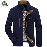 Afs Jeep Jacket Men Fashion Cotton Jean Military Jackets Male Masculina Pilot Outerwear Sportswear Denim Jackets