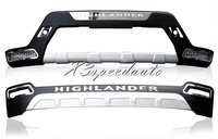 For Toyota Highlander 2011 2012 2013 Bumper Front+Rear Protector Guard High Quality