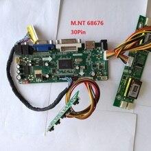 kit for LTM220M1-L0 Monitor Screen DVI VGA LVDS 4 lamps Driver HDMI 1680X1050 22″ Controller board 30pin DIY M.NT68676