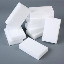 20 Pcs/lot Melamine White Sponge Magic Eraser Cleaner For Kitchen Office Bathroom Cleaning Nano 10x6x2cm