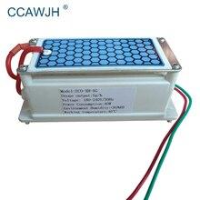 Draagbare Keramische Ozon Generator 220V/110V 12V 5G Geïntegreerde Lange Levensduur Keramische Plaat Ozonizer Lucht water Luchtreiniger Ozonizer