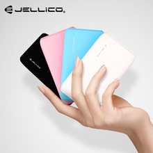 Jellico Power Bank 12 mm Ultra Slim 10000mAh PowerBank Dual USB 10000 mAh Comfortable Feel Power Ban