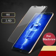 2PCS 9H Tempered Glass for Blackview A7 A9 A20 A30 BV5800 BV9500 P10000 Pro S6 Protective Film Screen Protector(China)