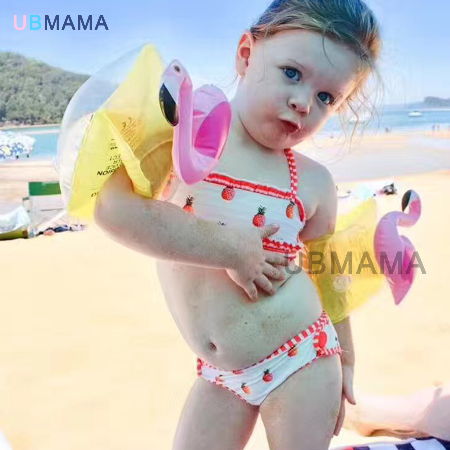 Hot sale Cute elephant 2PCS/Pair Inflatable Swim Accessories High Safety Kids Arm Floats Swimming Trainer Floating Ring