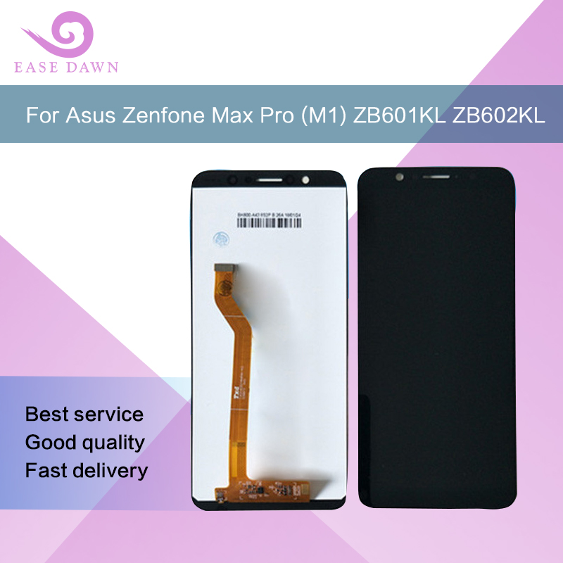 For ZB601KL LCD  ZB602KL LCD X00T Asus Zenfone Max Pro (M1) Screen Ips Display Digitizer Assembly Replacement Repair Spare Parts